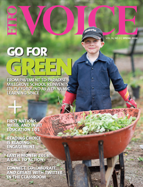 Cover of ETFO Voice Spring 2014