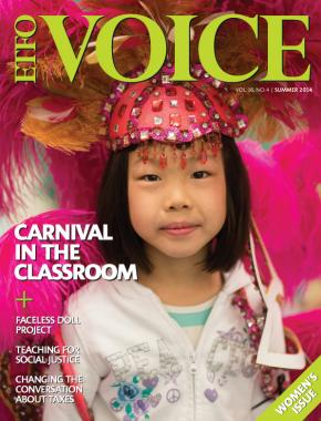 cover of ETFO Voice Summer 2014