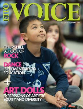 Cover of ETFO Voice Spring 2015
