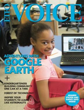Cover oF ETFO Voice Winter 2015