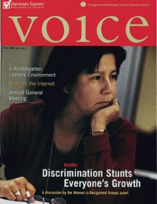 Cover of ETFO Voice Fall 1999