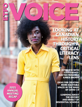 Cover of ETFO Voice Fall 2021