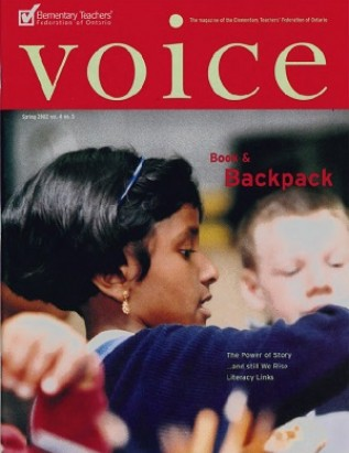 Cover of ETFO Voice Spring 2002