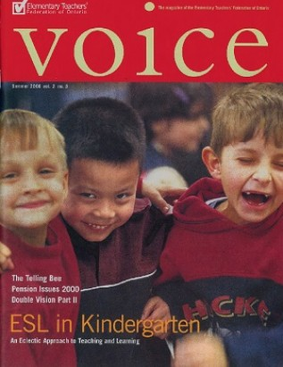 Cover of ETFO Voice Summer 2000