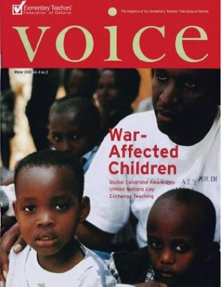 Cover of ETFO Voice Winter 2002
