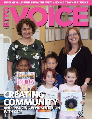 cover of ETFO Voice Winter 2018