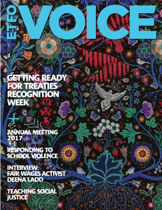Cover of ETFO Voice Fall 2017