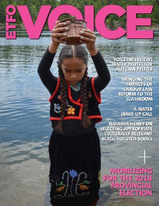 cover of ETFO Voice Spring 2018