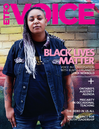 cover of etfo voice winter 2016