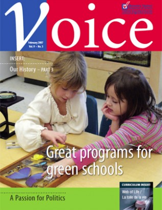 Cover of ETFO Voice February 2007