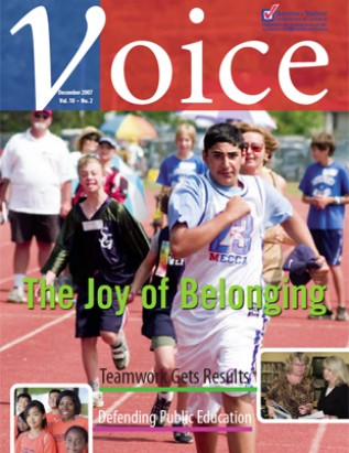 Cover of ETFO Voice December 2007