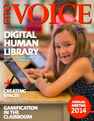 Cover of ETFO Voice Fall 2014