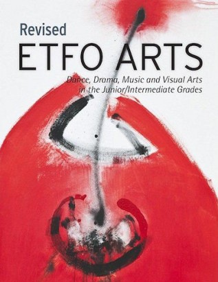 Cover of Revised ETFO Arts resource