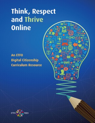 Cover of Think, Respect and Thrive Online